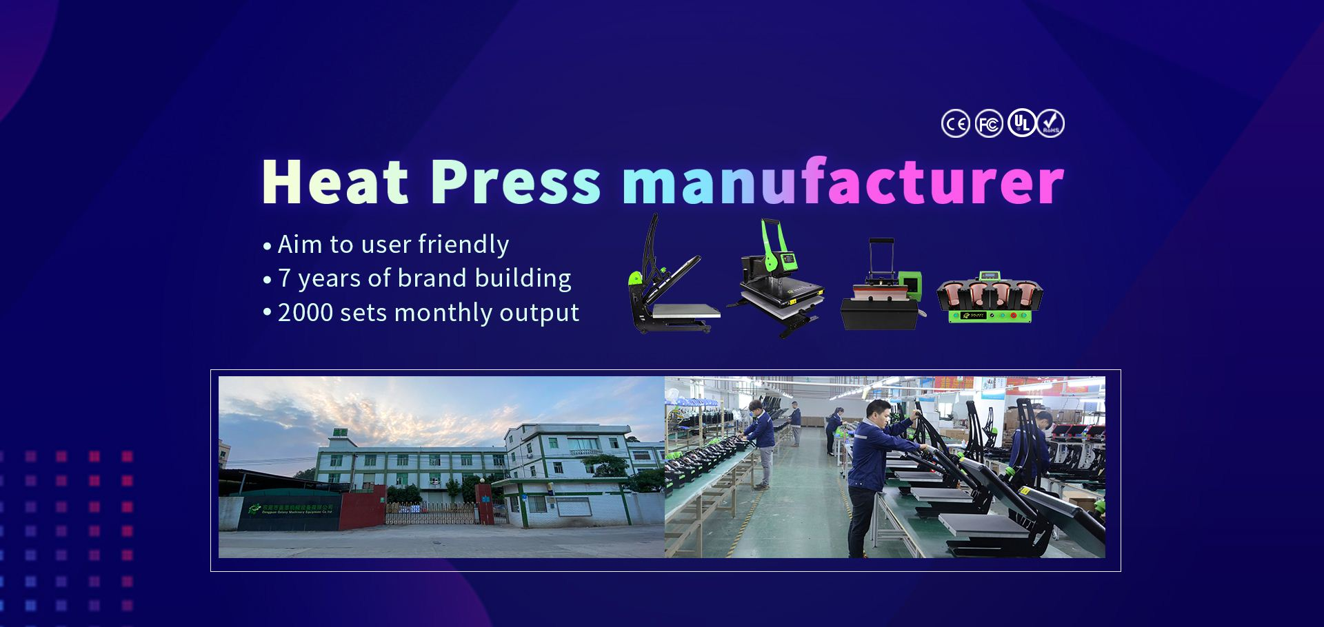 GALAXY PRESS Heat Press Machine