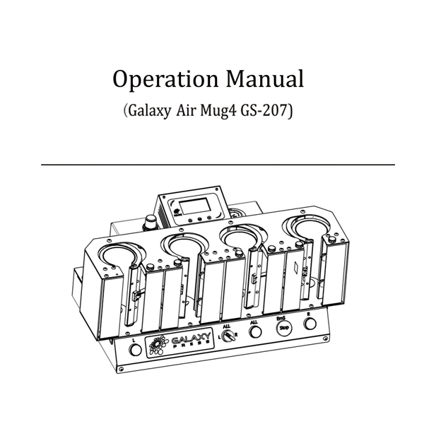 GS-207 Operation Manual