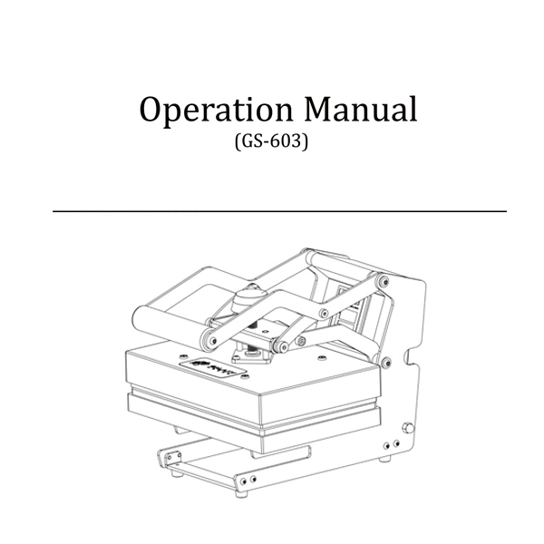 GS-802 Operation Manual
