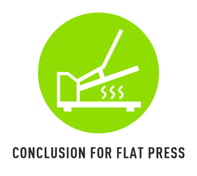 Conclusion for Flat Press